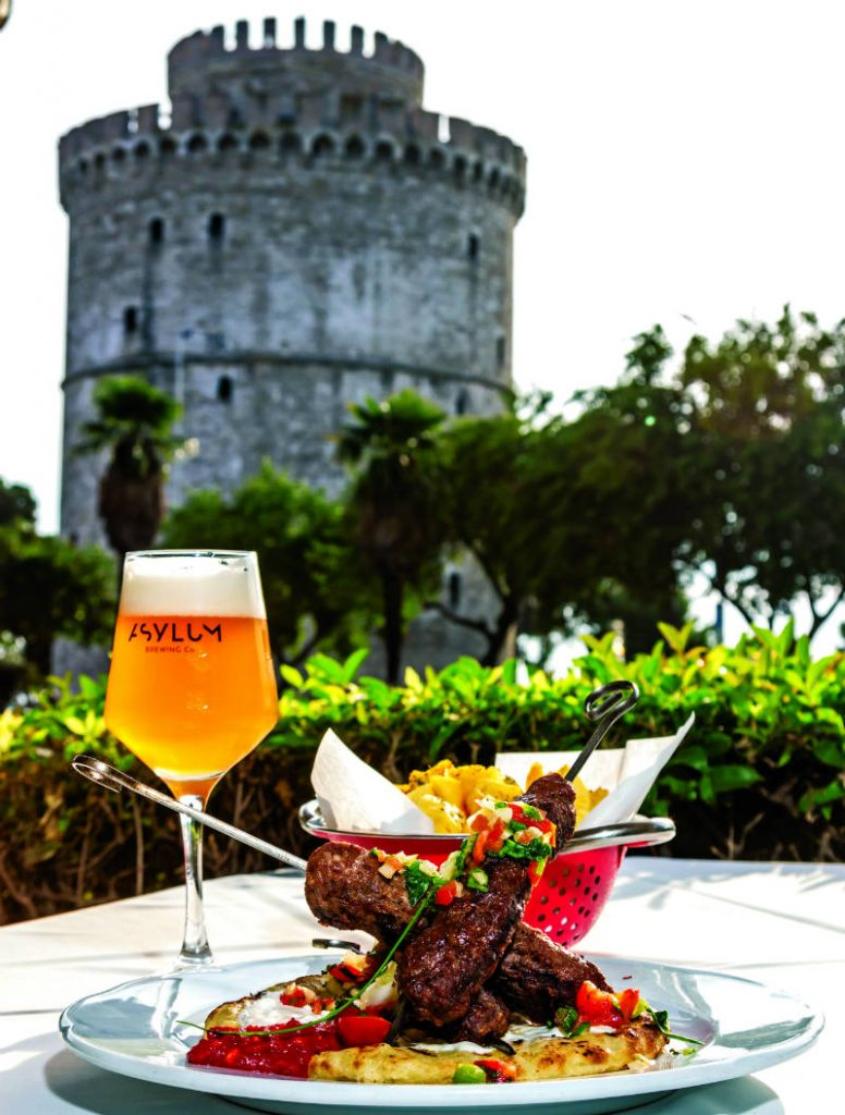 Ζύθος φαγητό Θεσσαλονίκη