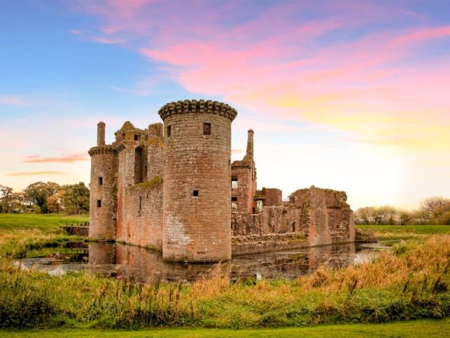Caerlaverock Castle, Σκωτία