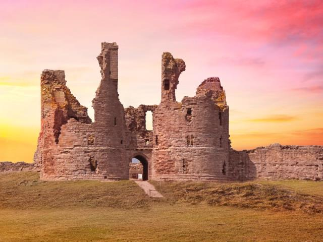 Dunstanburgh Castle, Αγγλία
