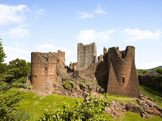 Goodrich Castle, Αγγλία