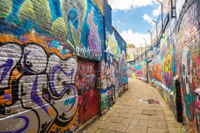 Graffiti Street Γάνδη