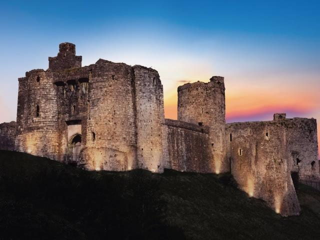Kidwelly Castle, Ουαλία
