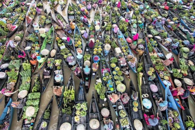 Ινδονησία: Η πλωτή αγορά Lok Baintan που μετράει 5 αιώνες