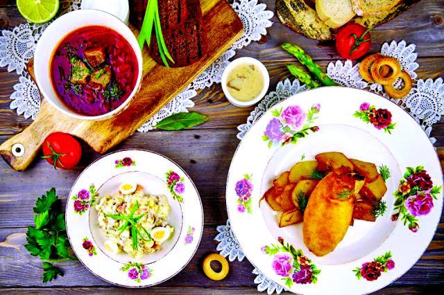 Ρωσικο φαγητό