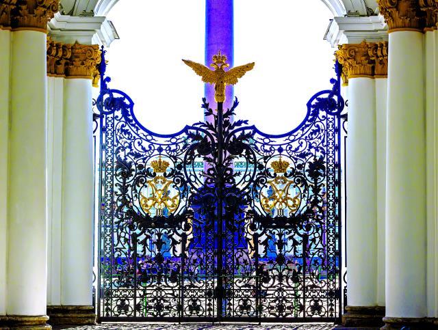 Η Πύλη του Ερμιτάζ, Αγία Πετρούπολη