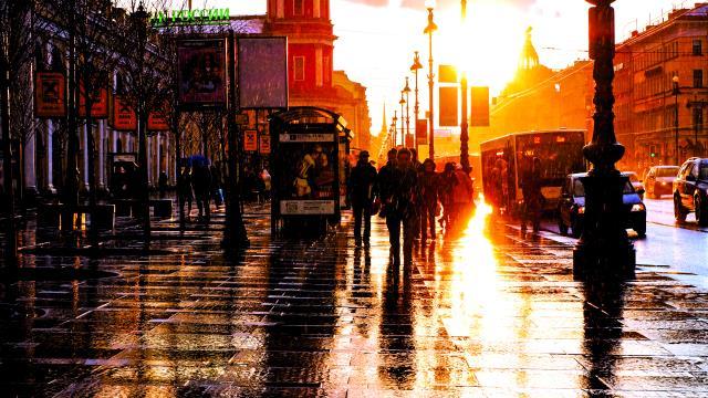 Αγία Πετρούπολη δρόμοι