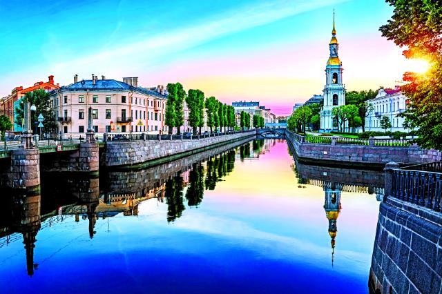 Κανάλια της Αγίας Πετρούπολης