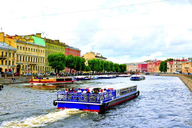 Ποταμός Fontanka, Αγία Πετρούπολη