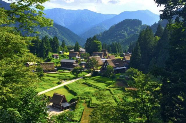 Τα ιστορικά χωριά των περιοχών Σιρακάουα-Γκο και Γκοκαγιάμα στην Ιαπωνία