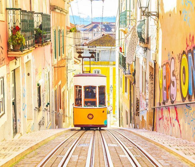 Κεντρική γειτονιά της Baixa και του Chiado Λισαβόνα