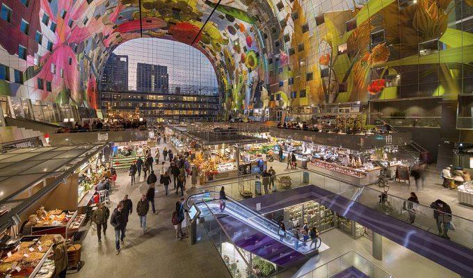 Markthal - αγορά Ρότερνταμ