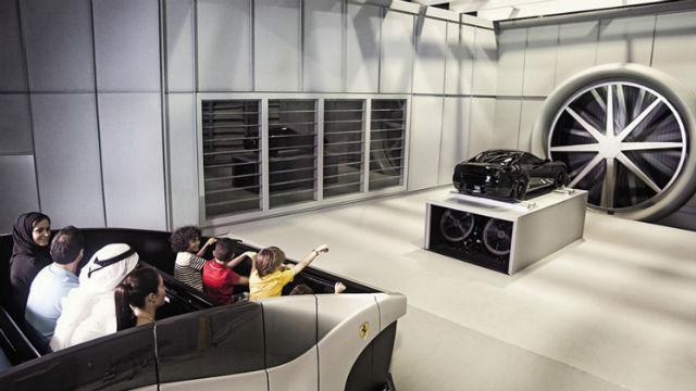 Το τεράστιο θεματικό πάρκο της Ferrari στο Άμπου Ντάμπι!