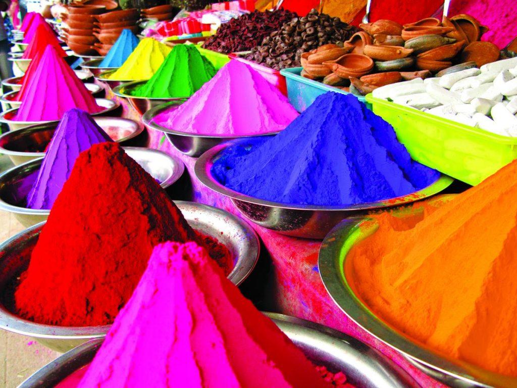 Φεστιβάλ Χόλι - χρώματα