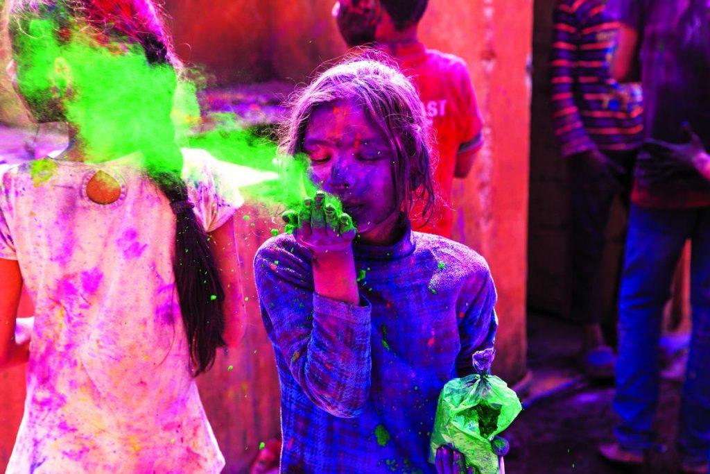 φεστιβάλ Χόλι - Γιορτή των Χρωμάτων