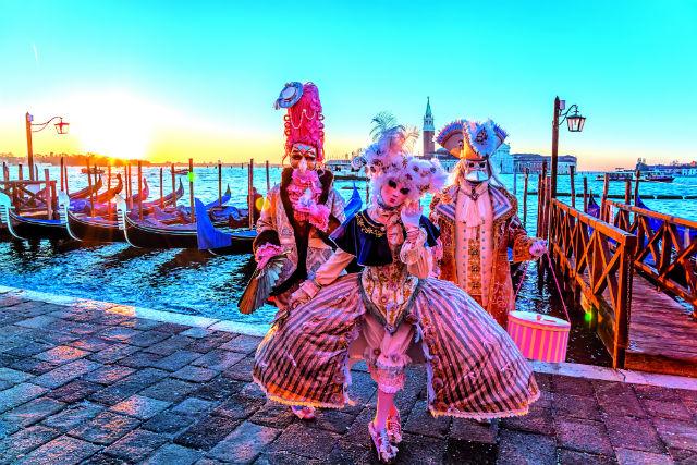 Καρναβάλι Βενετίας στολές