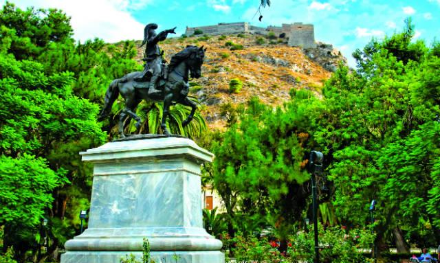 Άγαλμα του Κολοκοτρώνη, Ναύπλιο