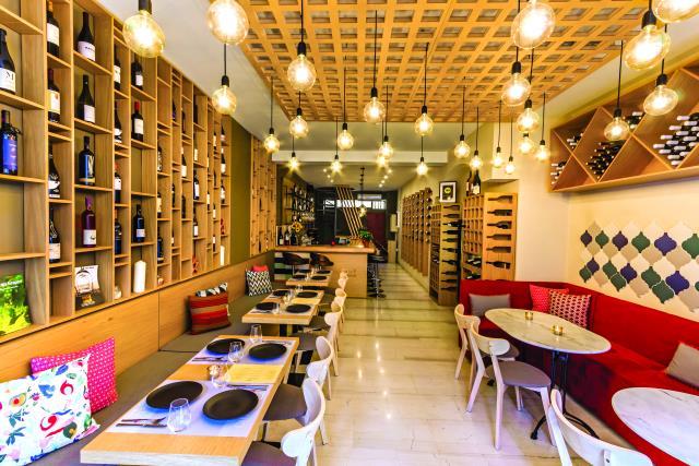 Oinovate wine bar Θεσσαλονίκη
