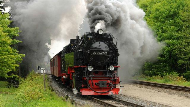 Κέντλινμπεργκ, Γερμανία, τρένο