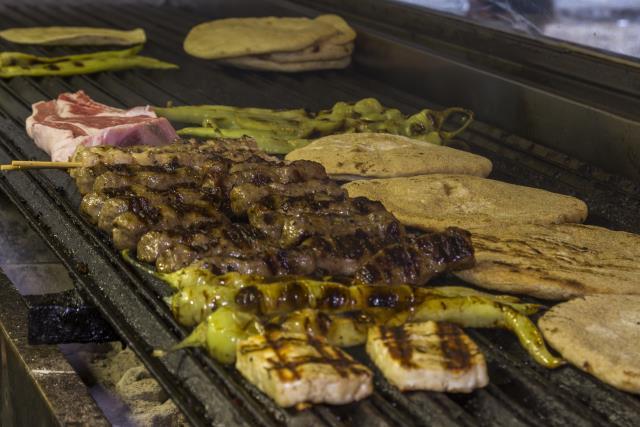 Βομβίδια, street food Θεσσαλονίκη