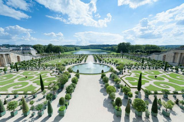 Ανάκτορο των Βερσαλλιών - κήποι