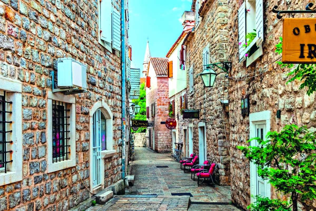 Μπούντβα, Μαυροβούνιο - μεσαιωνικές πόλεις