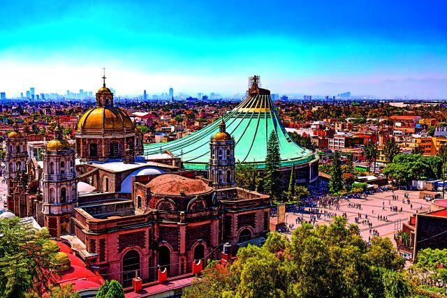 Βασιλική της Παναγίας της Γουαδελούπης, Μεξικό
