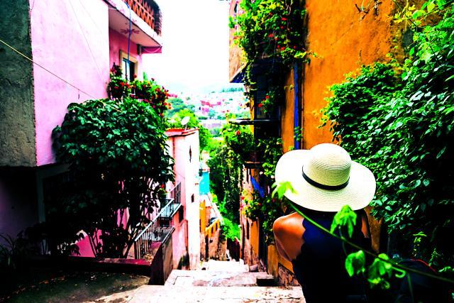 Ο δρόμος του φιλιού στο Μεξικό