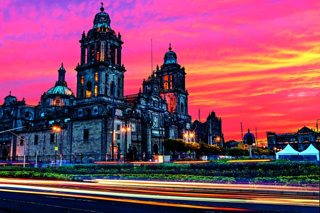 Πλατεία Zocalo Μεξικό