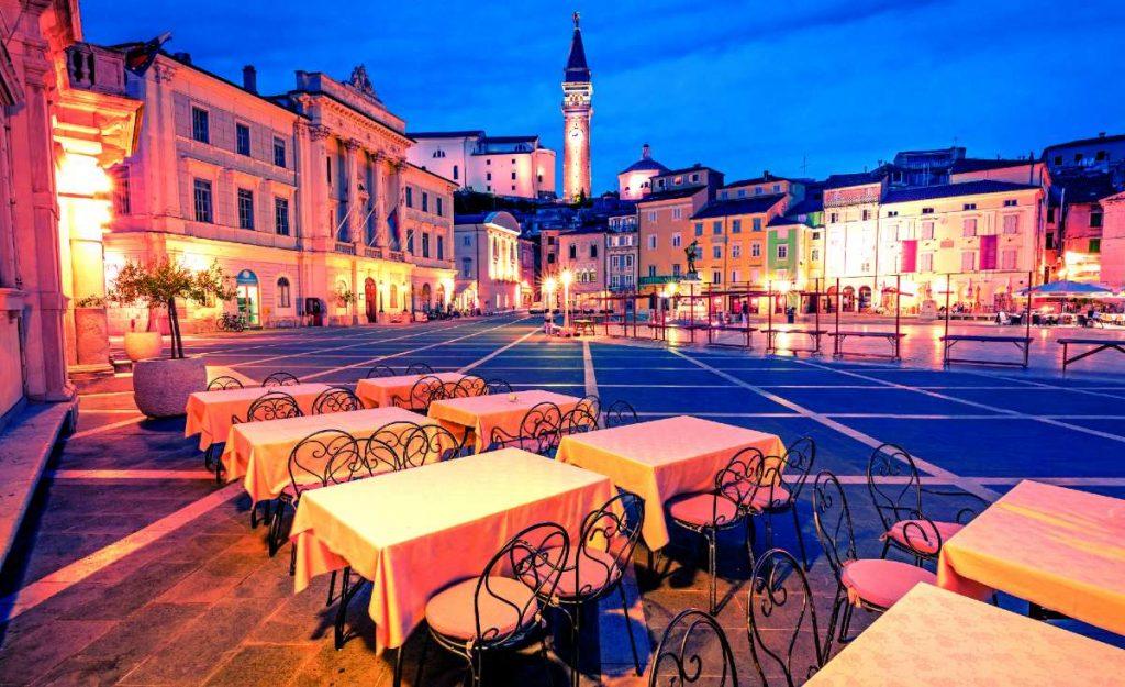 Πιράν, Σλοβενία - μεσαιωνικές πόλεις