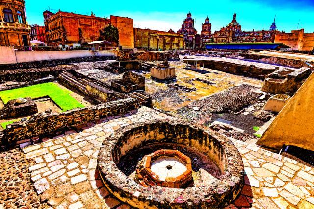 Ναός των Αζτέκων, Μεξικό