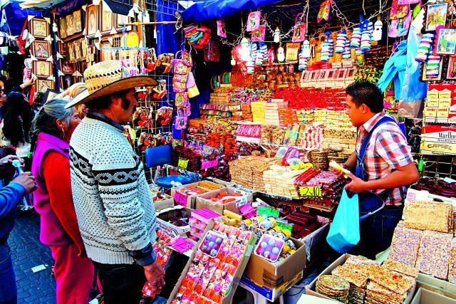 Υπαίθριες αγορές στο Μεξικό