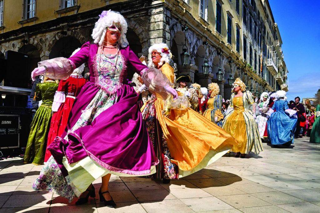 Κέρκυρα: Βενετσιάνικο Καρναβάλι - Απόκριες στην Ελλάδα