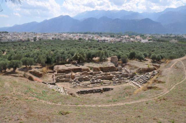 Αρχαίο Θέατρο - αξιοθέατα Σπάρτη
