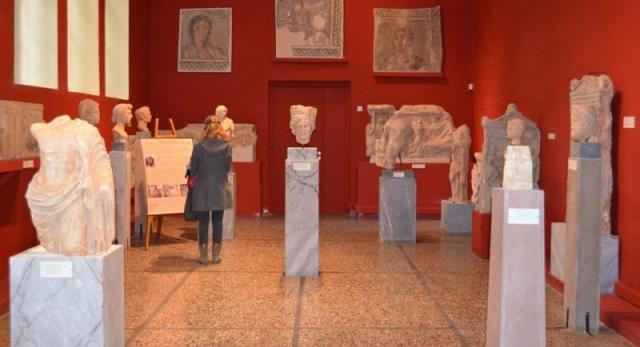 Μέσα στο Αρχαιολογικό Μουσείο της Σπάρτης