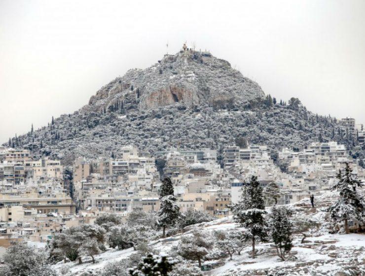 Νέο κύμα κακοκαιρίας θα φέρει χιόνια στην Αττική!