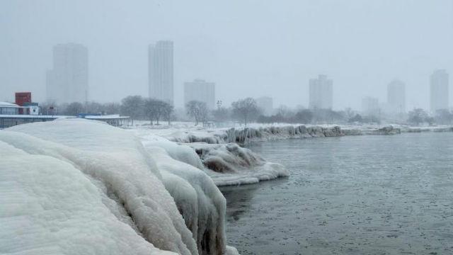 Οι Μεσοδυτικές πολιτείες των ΗΠΑ σε θερμοκρασίες έως και -55 βαθμούς Κελσίου (Photos)