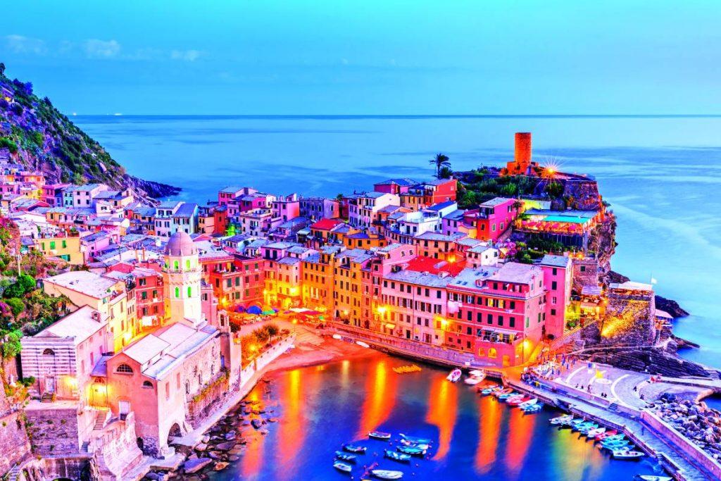 Cinque Terre, Ιταλία - Μεσόγειος