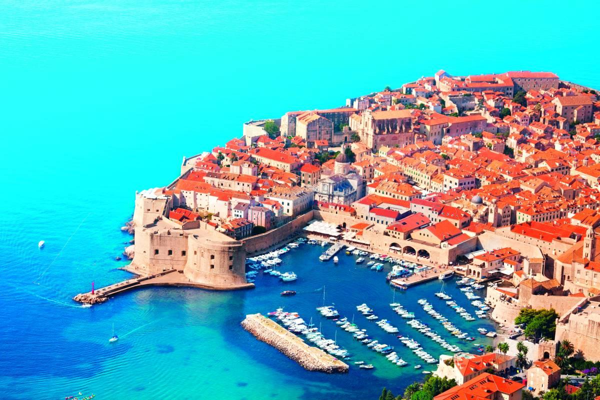 Ντουμπρόβνικ, Κροατία - μεσαιωνικές πόλεις