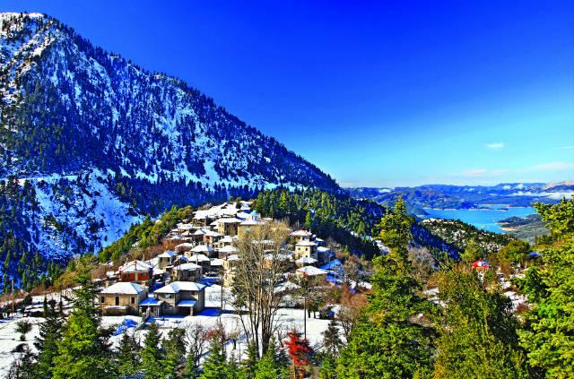 Φιδάκια και Κρίκελλο - Ευρυτανία χωριά