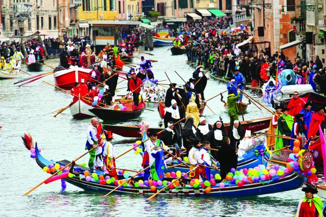 Καρναβάλι Βενετίας παρέλαση