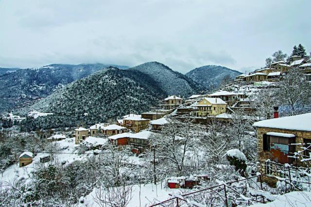 Κλαύσι - χωριά Ευρυτανίας