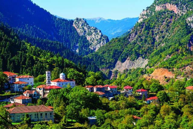Μεγάλο Χωριό - χωριά Ευρυτανία