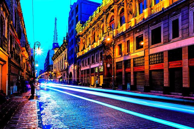 Το Μεξικό τη νύχτα