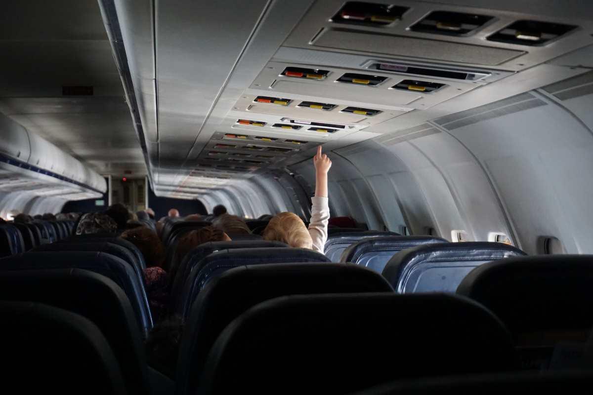 Μωρό σε αεροπλάνο