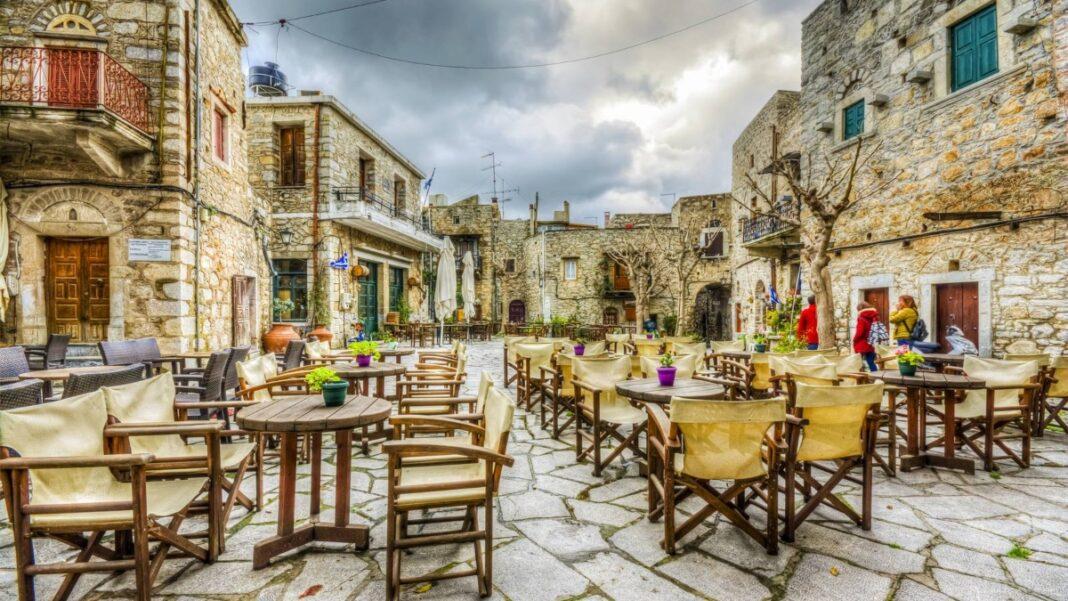 Ελληνικά νησιά χωριά