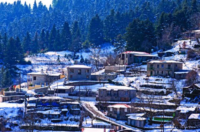 Νόστιμο - χωριά Ευρυτανίας
