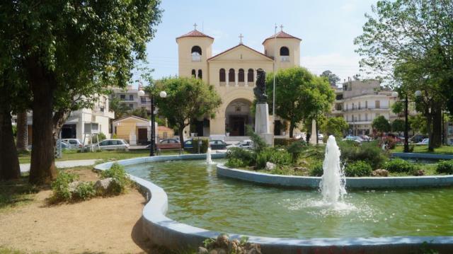 Πάρκο και εκκλησία Αγίου Νίκωνος