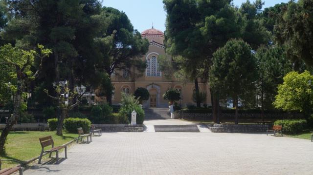 Πάρκο-πλατεία Ευαγγελιστρίας, Σπάρτη
