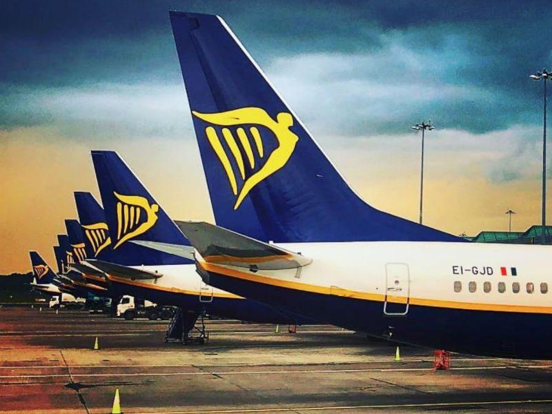 ryanair νέες πτήσεις