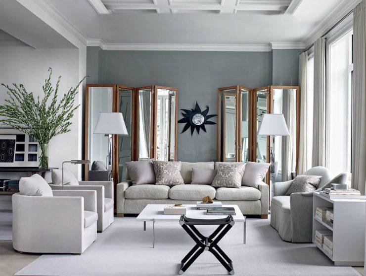 Με αυτά τα 14 tips θα κάνετε το σαλόνι σας να δείχνει πιο μεγάλο!
